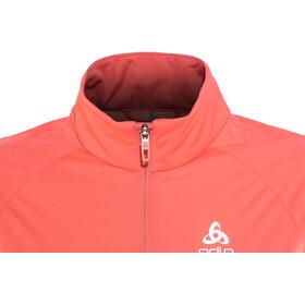 Odlo W's Zeroweight Windproof Warm Jacket hibiscus